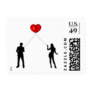 BALLOON MEET LOVE.png Postage