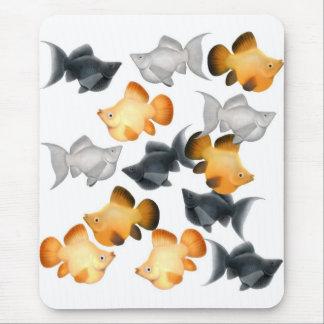 Balloon Mollies Tropical Fish Mousepad