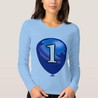 Balloon number 1 shirt