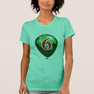 Balloon number 6 T-Shirt