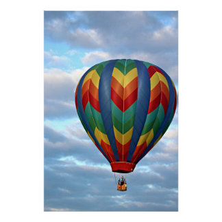 Balloon on the Rise Poster