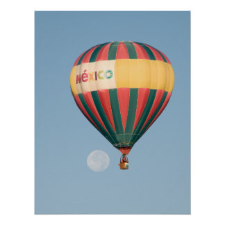 Balloon over the moon posters