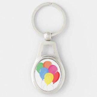 Balloon Party Keychain