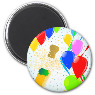 Balloon Party Magnet
