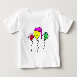 Balloon People in Nightcaps Baby T-Shirt
