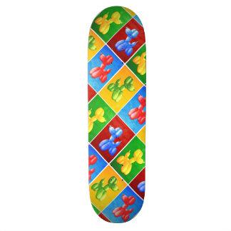 Balloon Poodle Skate Deck