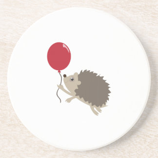Balloon & Porcupine Drink Coaster