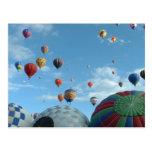 balloon postcards