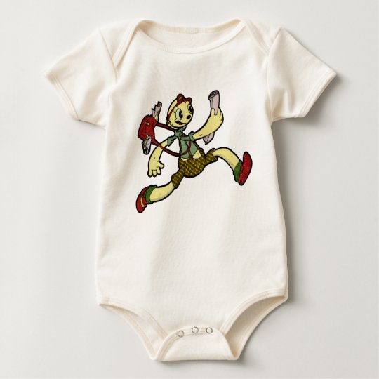 Balloon postman baby bodysuit