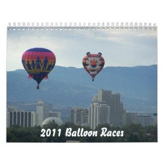 Balloon Races Calendar