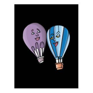 Balloon Romance Postcard