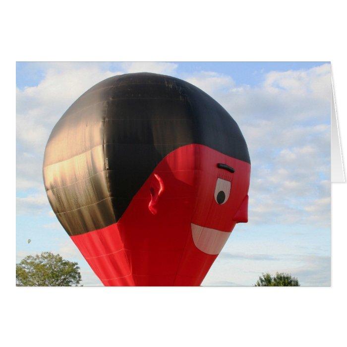 Balloon Say Cheese! Card