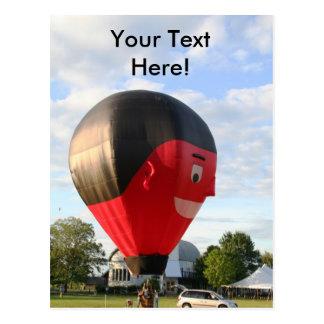 Balloon Say Cheese! Postcard