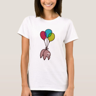 Balloon Sloth T-Shirt