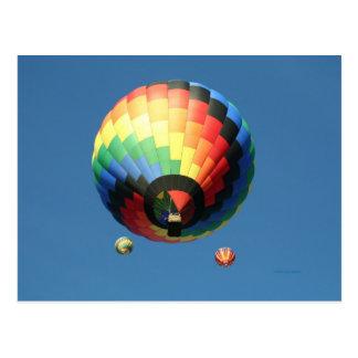 Balloon, Spiral! Postcard
