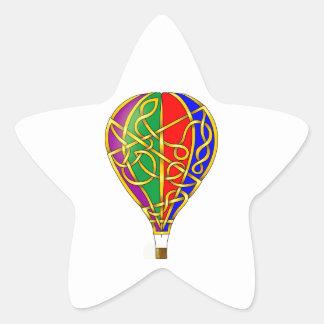 Balloon Star Sticker