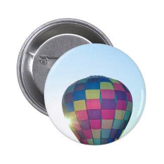 Balloon Sun burst Happy Birthday! Buttons