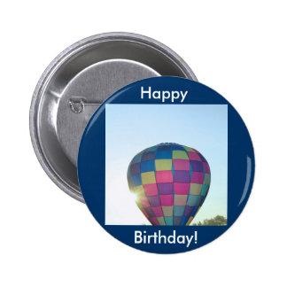 Balloon Sun burst Happy Birthday! Pin