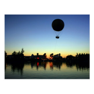 Balloon Sunset Postcard