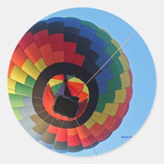 Balloon Swirl!!! Classic Round Sticker