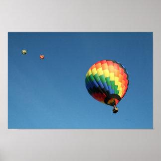 Balloon, Swirl Poster