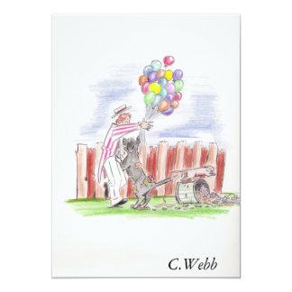 balloon theives, C.Webb Card