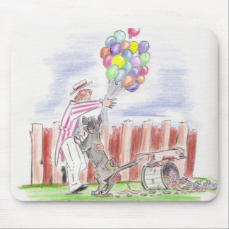balloon theives mouse pad