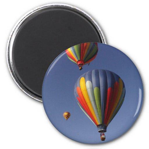 Balloon Trio 2 Inch Round Magnet