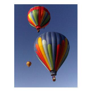 Balloon Trio Postcard