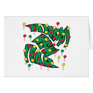 Balloon Twist Card