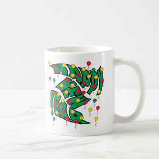Balloon Twist Classic White Coffee Mug