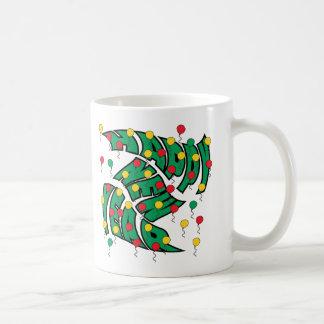 Balloon Twist Classic White Coffee Mug