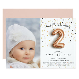 2 Years Old Birthday Invitations