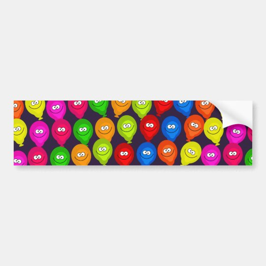 Balloon Wallpaper Bumper Sticker