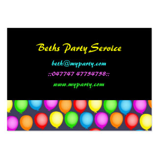 Balloon Wallpaper Large Business Cards (Pack Of 100)