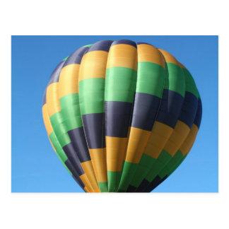Balloon, wave postcard