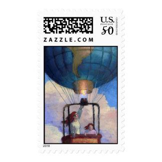 Balloon World postage stamp