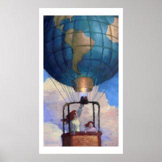 Balloon World print
