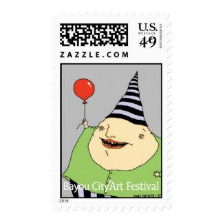 """Balloonatic"" Stamp"