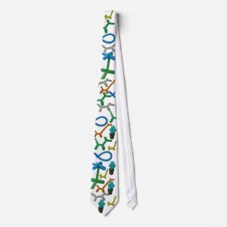 Ballooned Tie
