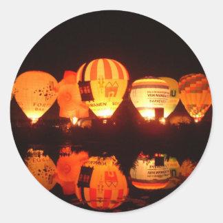 BalloonGlow Classic Round Sticker