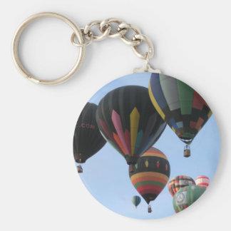 Ballooning 2011 basic round button keychain