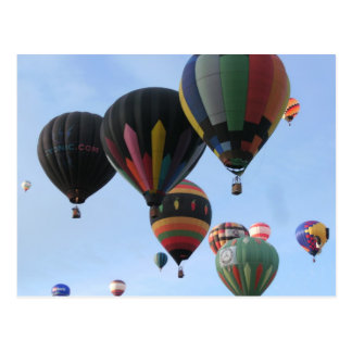 Ballooning 2011 post cards