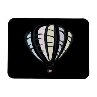 Ballooning 4 rectangular photo magnet