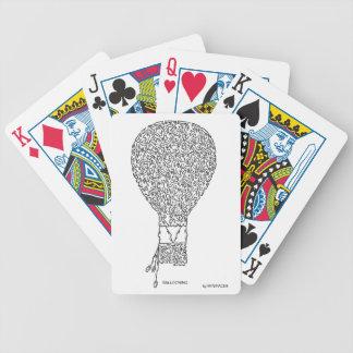BALLOONING BICYCLE PLAYING CARDS
