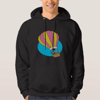 Ballooning Couple Hooded Sweatshirt