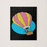 Ballooning Couple Jigsaw Puzzle
