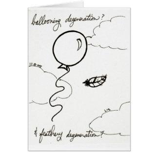 Ballooning & Feathery Degeneration card
