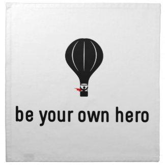 Ballooning Hero Cloth Napkin