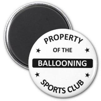 Ballooning Magnet